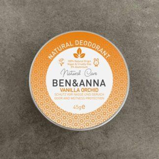Desodorante Ben & Anna Vanilla Orchid en lata