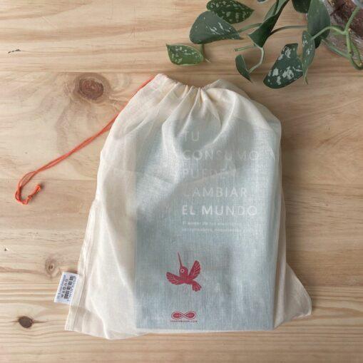 Bolsa de tela para regalo y para granel Residuo cero