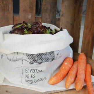 Bolsa para frutas y verduras reutilizable XL