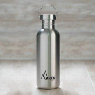 Botella de acero inoxidable Basic Steell 100% 1L