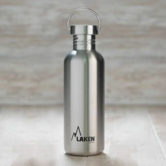 Botella de acero inoxidable Basic Steell 100% 750 ml