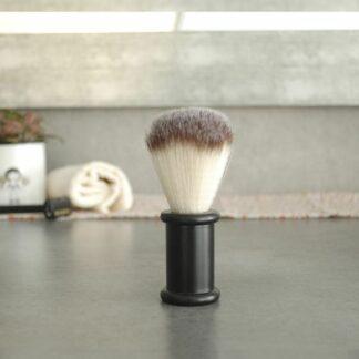 Brocha de afeitado de acero banbú
