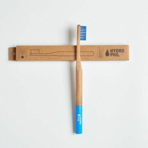 cepillo dientes bambú hydrophil azul