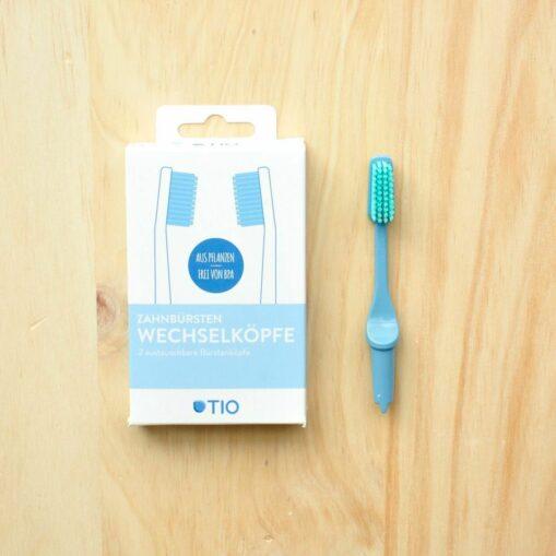 cabezal de recambio para cepillo de dientes Tio Medio Turquesa