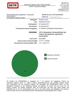certificado de cepillo dental hydrophil, 100% vegetal