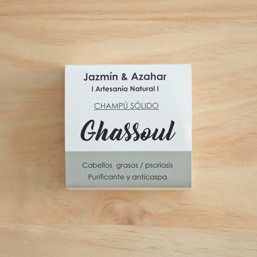 champú sólido para caspa Ghassoul