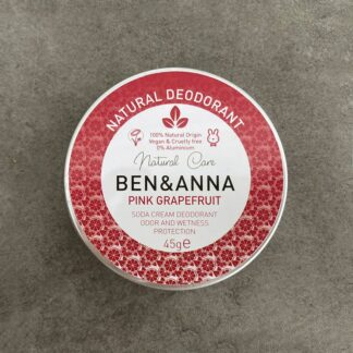 Desodorante Pink Grapefruit Ben&Anna en lata