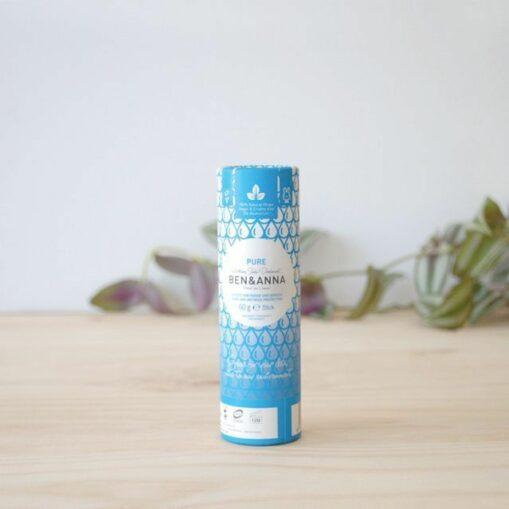 Desodorante sólido Pure sin plástico Ben & Anna