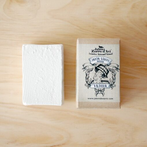 "Jabón sólido para la vajilla Zorro d""avi"
