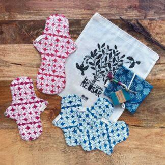 kit menstruaciones sostenibles