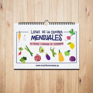 Calendario de fruta y verdura de temporada de Plantea en Verde