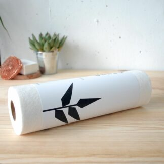 Papel absorbente reutilizable de fibra de bambú