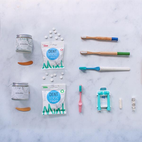 Productos de higiene dental sostenibles