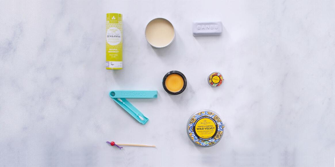 produtos residuo cero para un baño sin plástico