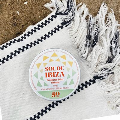 productos de protección solar residuo cero :  sol de ibiza, protector solar sin plástico