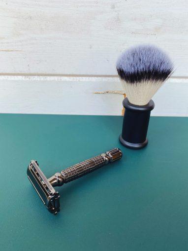 afeitadora mariposa negra